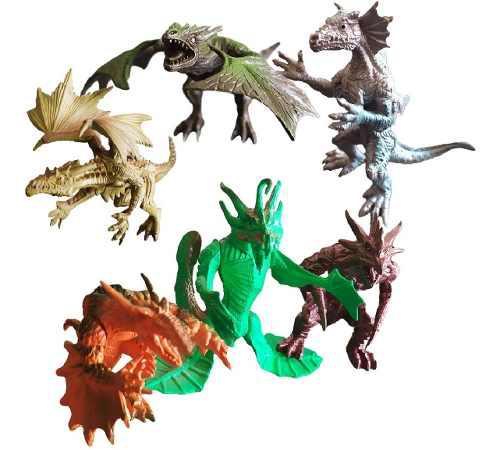 Dragon Dinosaurio Gárgolas Juguete Didáctico Juguetería