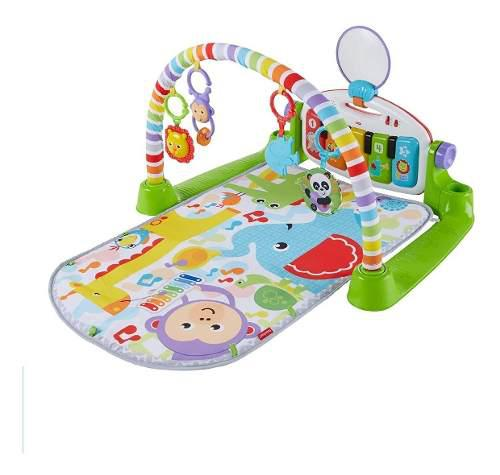Gimnasio Tapete Bebes Piano Musical Luces Lujo Fisher Price