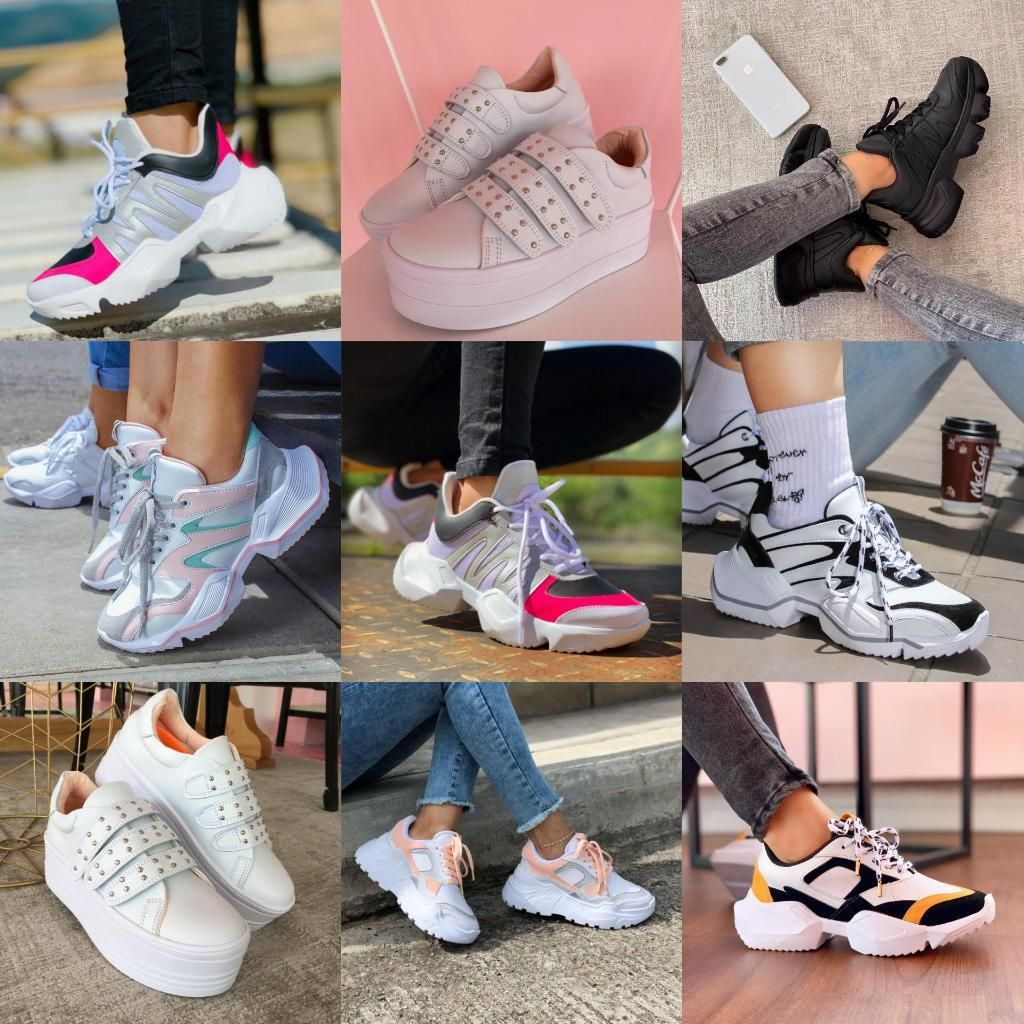 Zapatillas Sport para Mujer Y Hombre