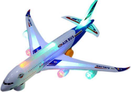 Avión A380 Juguete Luces Niños Jet Vuelo Ref. 168