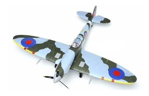Avion Rc Dynam 5-ch Spitfire 1200mm Brushless Rc Remote