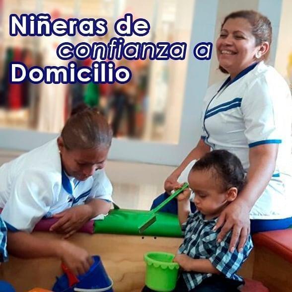 Ofrecemos servicios de niñeras por horas.
