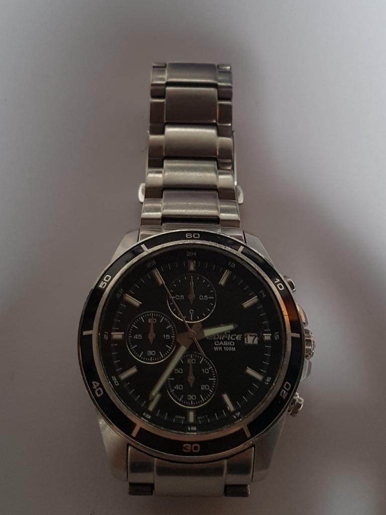 Reloj Casio Edifice Wr100m Original