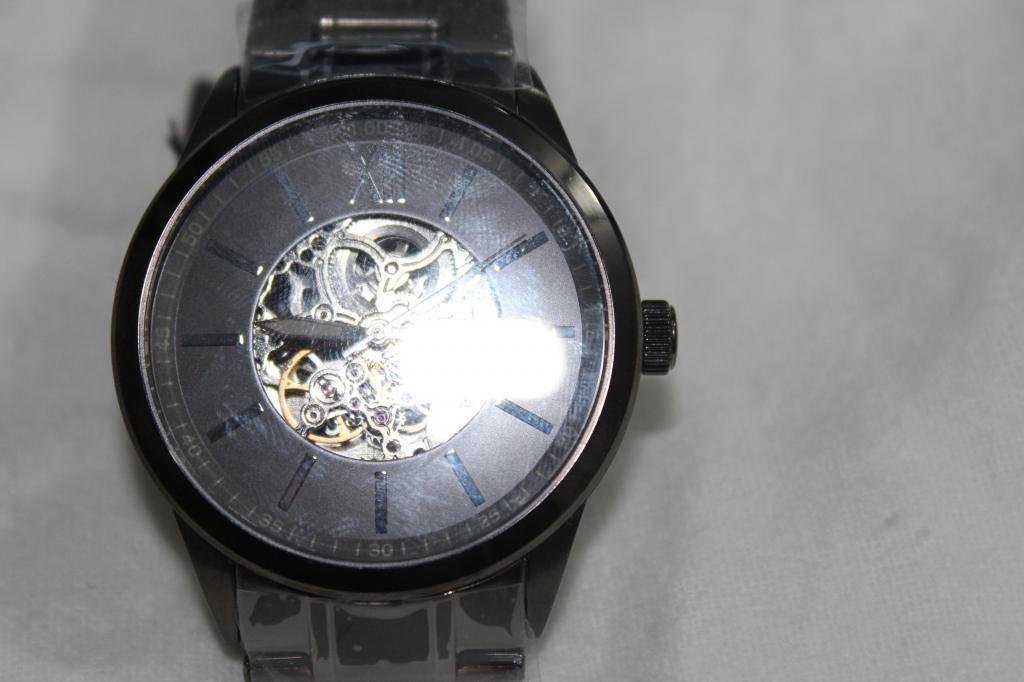 Reloj Fossil Automatico Skeleton Nuevo Nunca Usado En Acero