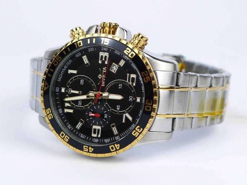 Reloj Invicta  Nuevo Original Cronografo Dorado Fecha