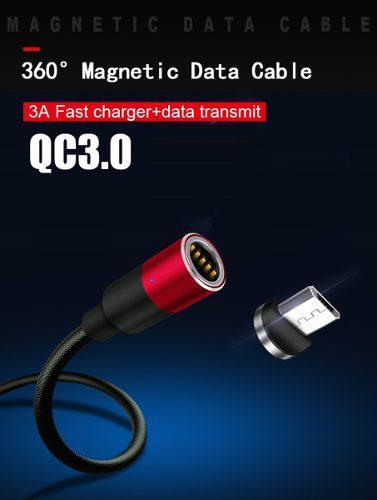 Cable Cargador Magnetico Micro Usb