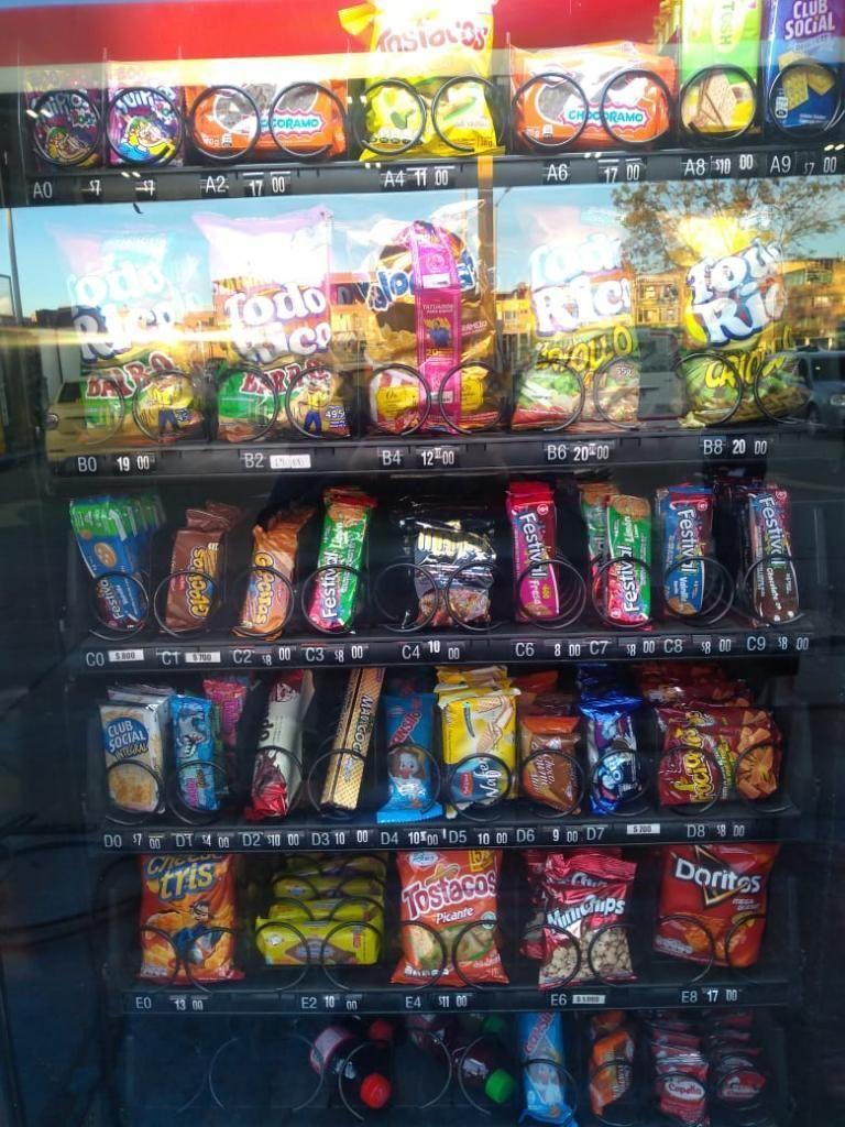Vendo O Permuto Maquina de Snacks