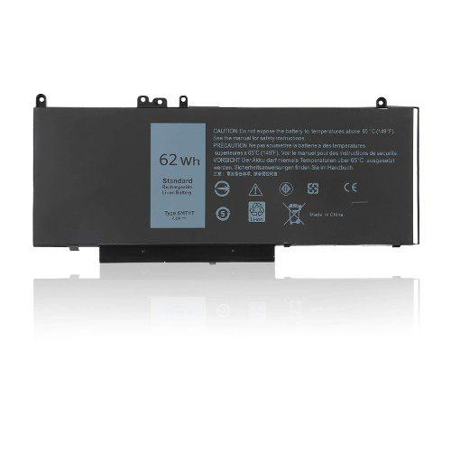 Batería De Reemplazo De 6mt4t Para Dell Latitude E5470...