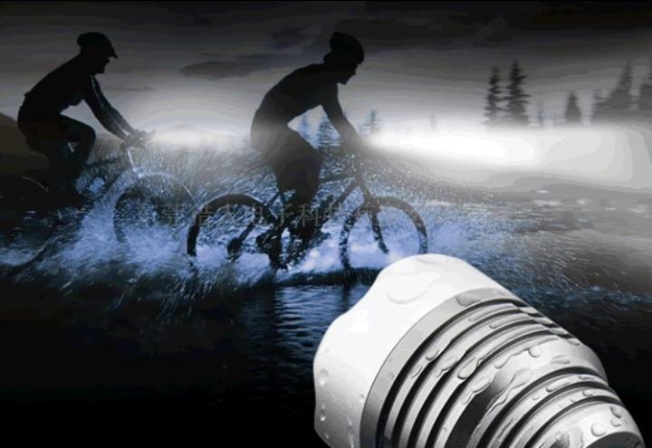 Luz Delantera para Ciclismo Recargable