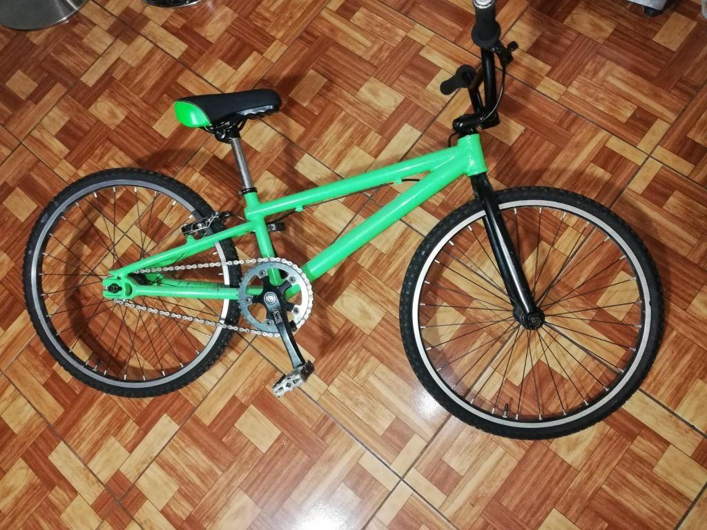 Vendo Bicicleta Cross Aluminio 100