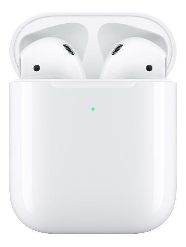 Apple AirPods Serie 2 Bluetoot Audífonos + Carga