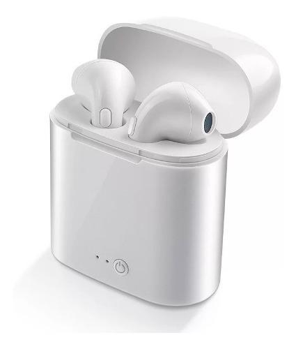 Audifono Bluetooth I7s Tws Tipo AirPods Base De Carga