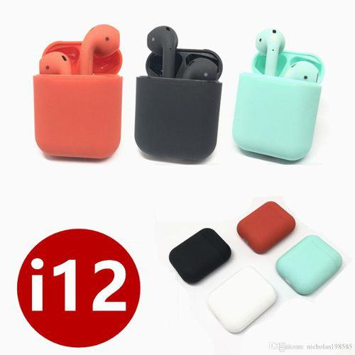 Audifonos AirPods I12 Tws Bluetooth +box Carga Touch Powerba