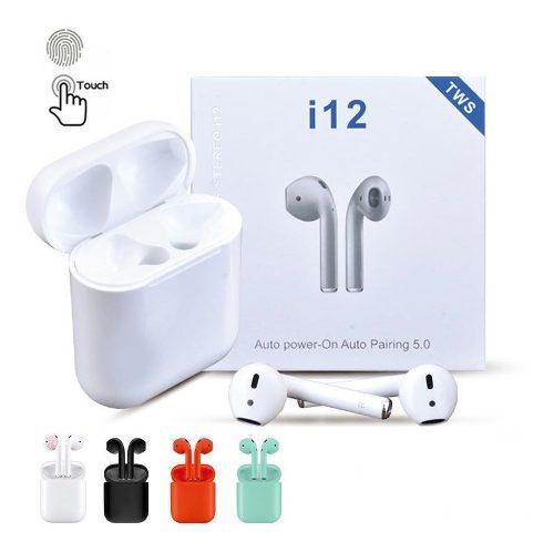 Audifonos I12 AirPods Bluetooth V.5 Tws 2019 Táctiles