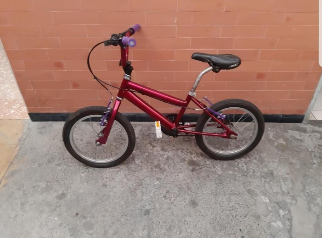 Bicicleta Pinina Pequeña Como Nueva