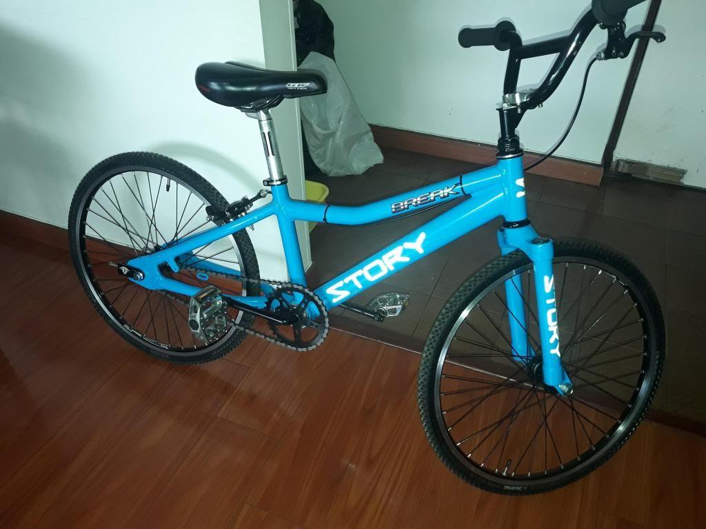 Bicicleta bmx en aluminio usada