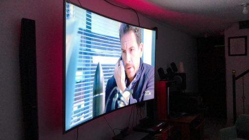 Tv Samsung 78 4k Curvo Un78ku6500 Casi Nuevo Con Hdr Premium