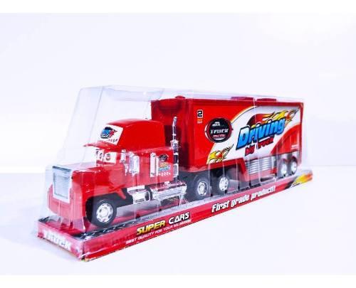 Camión Niñera Cars Mula 48cm Mack Niñera