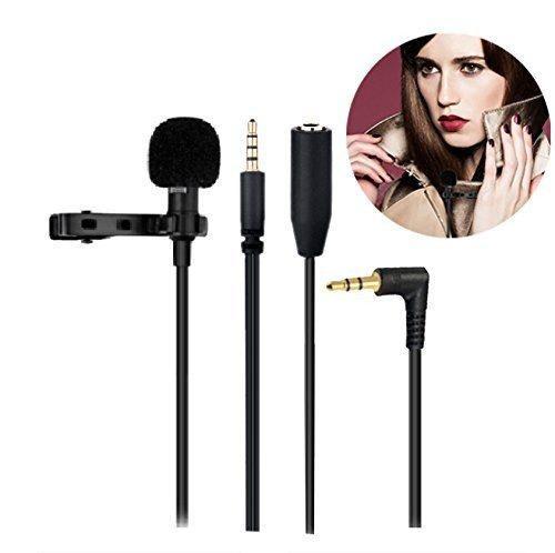 Kamle Micrófono Profesional Diseño Solapa Auricular Micr