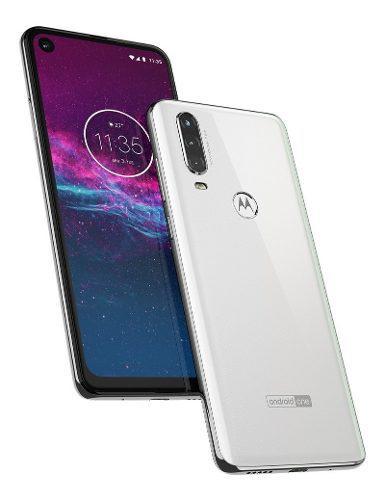 Celular Motorola Moto One Action 128gb Blanco Garantía 1