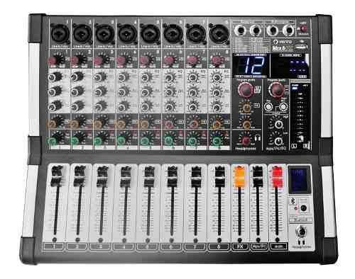 Mezclador De Audio Mixer 8 Canales Vento Mix8fx Efectos Dsp