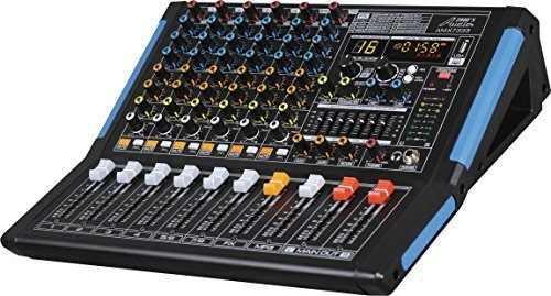 Mezclador Profesional De Audio De Ocho Canales Con Interfaz