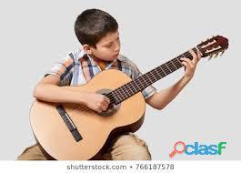 Clases de guitarra para niños y adultos a domicilio Bogotá