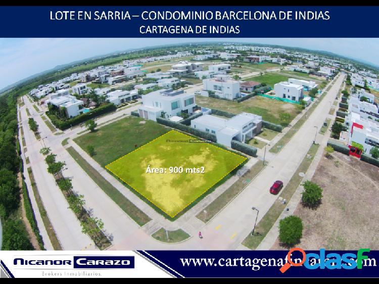 Venta lote para construir en Barcelona Cartagena