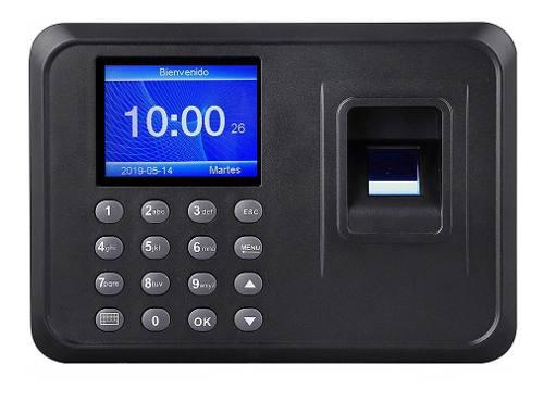 Reloj Checador Huella Digital Biometrico Memoria Usb