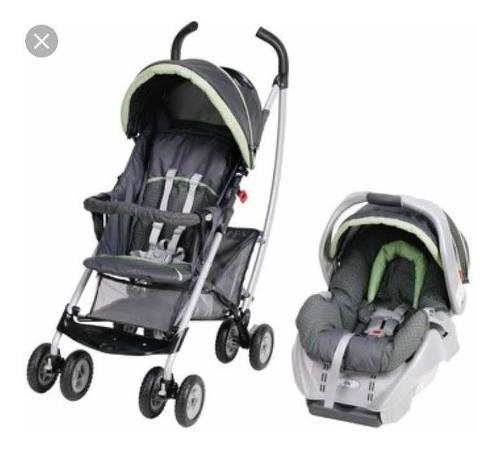 Coche Y Silla Para Carro De Bebé - Marca Graco