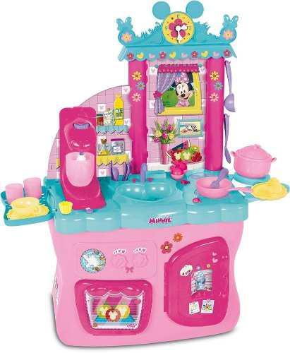 Juguete Cocina Infantil Niña Minnie Mouse Con Accesorios