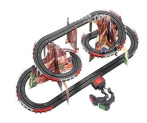 Pista De Carros Eléctrica Grande 6.30mt Alta Velocidad
