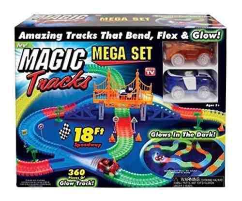 Pista Magic Tracks + Pista 5.5 Metros + Puente + 2 Carros