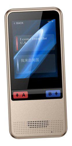 Traductor Con Voz Instantáneo Portátil Micro 2.0,