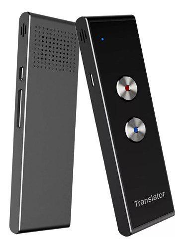 Traductor De Voz Instantaneo - 40 Idiomas Bluetooth