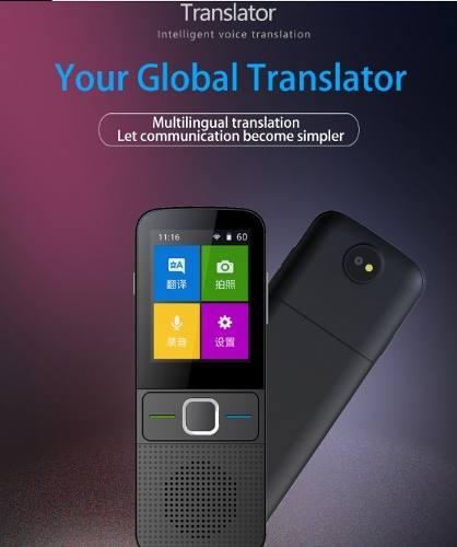 Traductor Instantáneo,134 Idiomas, 14 Sin Conexión. 2019.