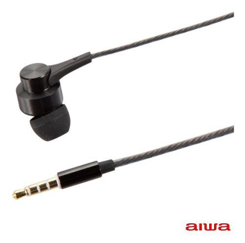 Audifonos Auricular Manos Libres Hd In Ear Aiwa Aw1 Negro