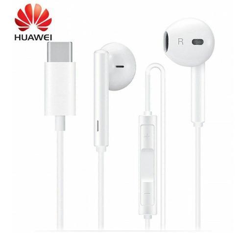 Audifonos Manos Libres Huawei P30 Pro Cm33 Conector Type C