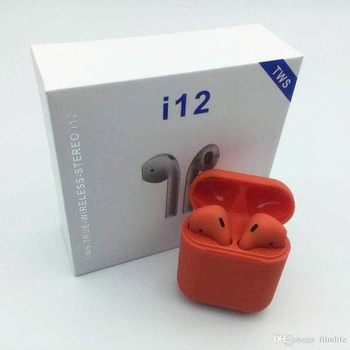 Auriculares Inalambricos I12 Tws Touch Bluetooth 5.0