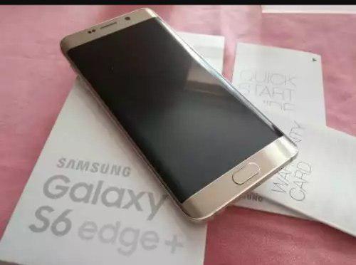 Celular Samsung Galaxy S6 Edge Plus. Color Dorado