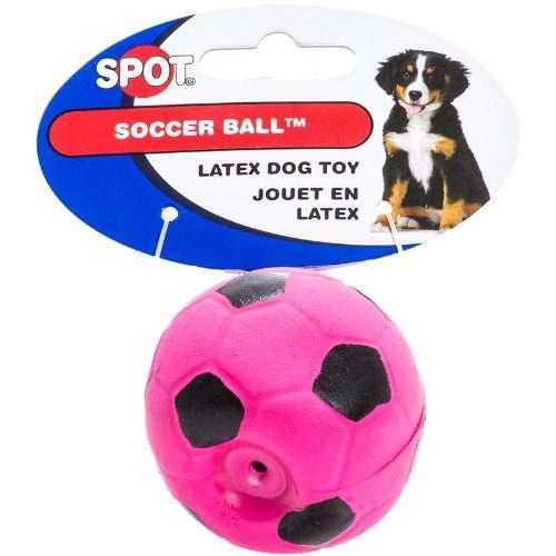 Spot Látex De Fútbol Pelota Para Perros