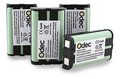 Batería Para Teléfono Inalámbrico Panasonic Odec Para Hhr