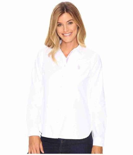 Camisas Blusas Mujer Polo Us Polo Assn Originales Blanca