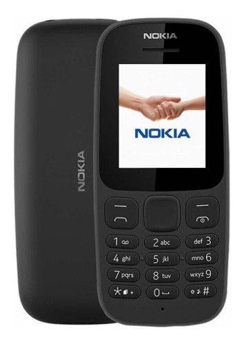 Celular Nokia 106 Negro Radio Fm Linterna + Monopod Selfies
