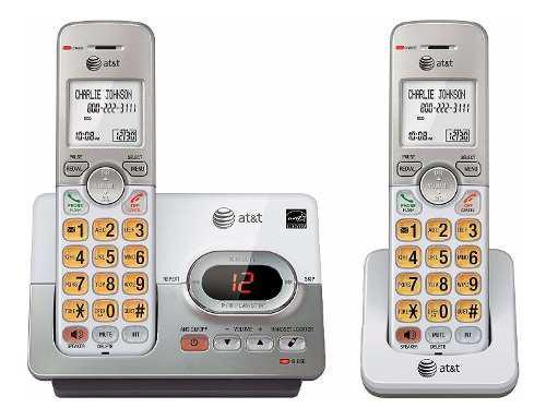 Sistema De Teléfono Inalámbrico De Auriculares At & T...