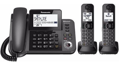 Teléfono Panasonic Kx Tgf382 1 Fijo 2 Auriculares Bluetooth
