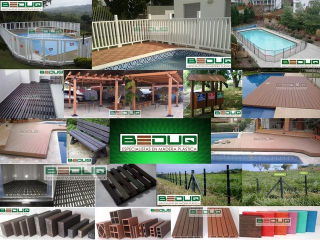 BEDUQ: Cerramientos para Piscina, Decks, Pérgolas, Madera