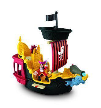 Jake Y Los Piratas Barco Capitan Hook´s Para Niños