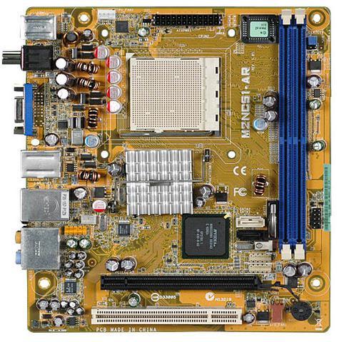 Motherboard M2NC51AR HP and Compaq Desktop PCs Asus SATA