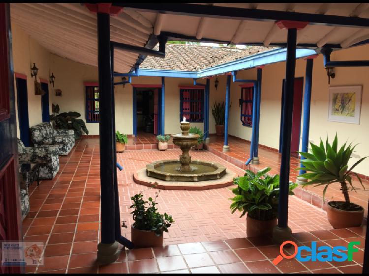 Venta de casa Finca en San Antonio de Pereira